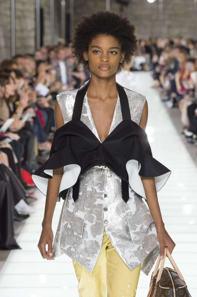 Theresa Hayes on the catwalkLouis Vuitton show, Runway, Spring Summer 2018, Paris Fashion Week, France - 03 Oct 2017