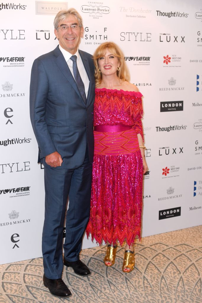 Michael Ward and Helen BrocklebankWalpole British Luxury Awards, Arrivals, London, UK - 20 Nov 2017