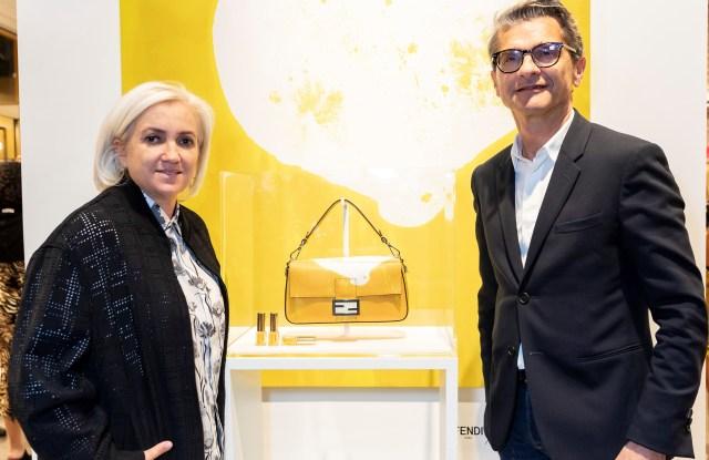 Silvia Venturini Fendi snd Serge Brunschwig