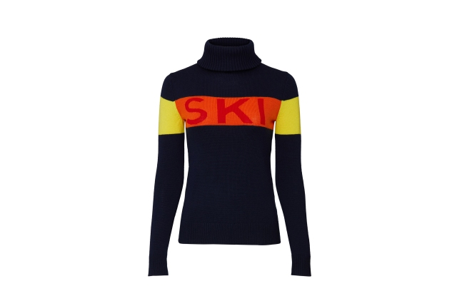 A ski sweater from Perfect Moment.