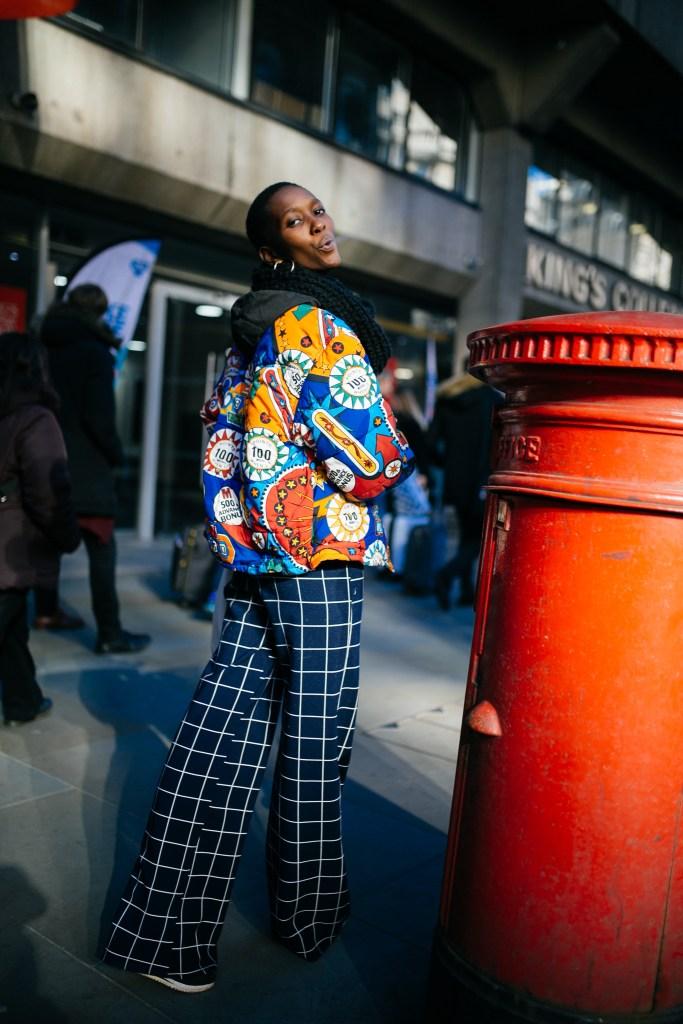 Street style at London Fashion Week fall 2019