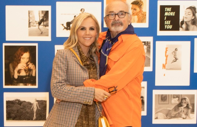Tory Burch and Arthur Elgort