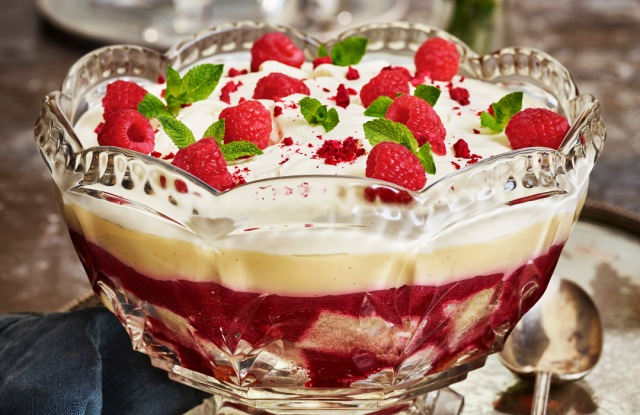 Georgian cooks added jelly to the English classic Trifle.