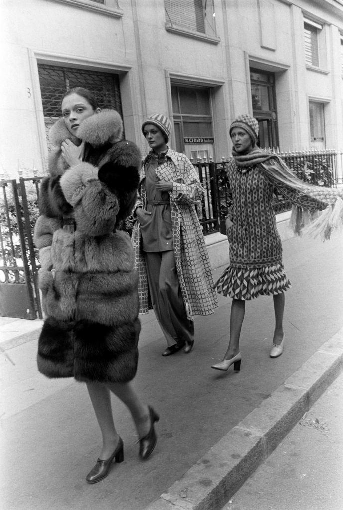 Emanuel Ungaro Fall 1973 Couture
