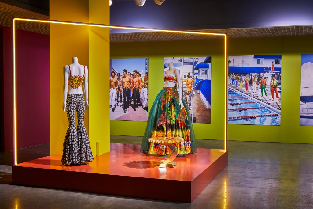 "Versace's ""South Beach Stories"" exhibition curated by Sasha Bikoff."