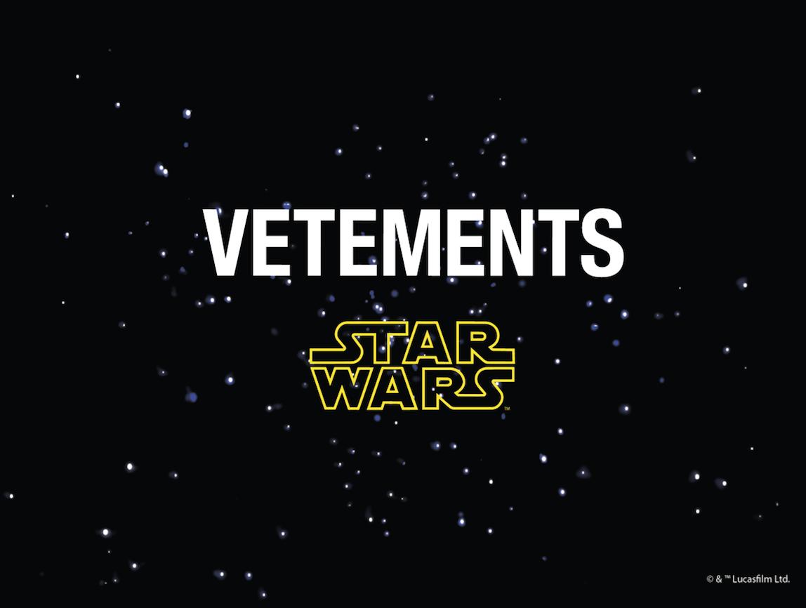 Vetements x Star Wars