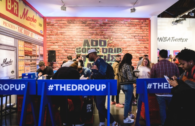 The Drop-Up