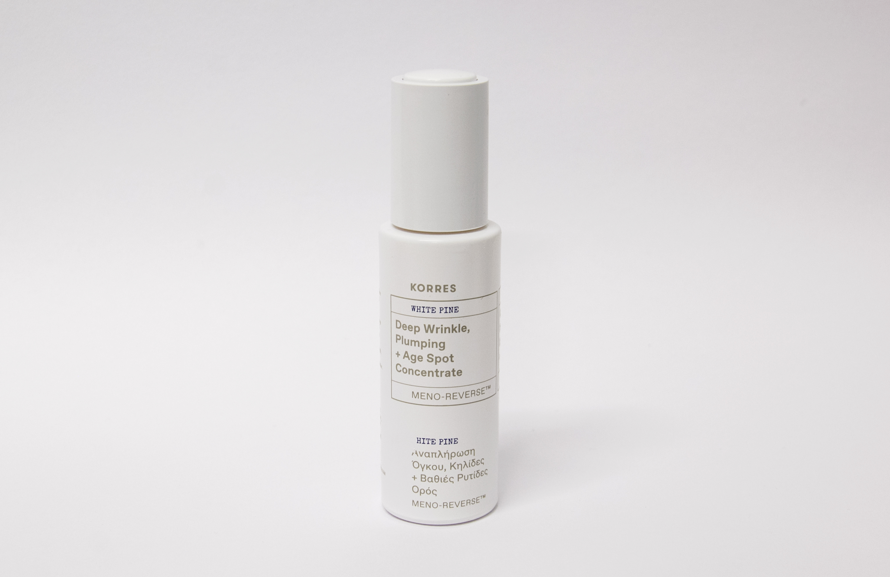 Korres' Deep Wrinkle Plumping + Age Spot Concentrate