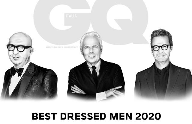 Marco Bizzarri, Giorgio Armani and Federico Marchetti to be awarded with GQ Best Dressed Men awards
