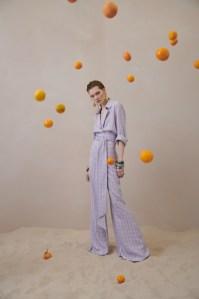 A look from Galvan's first resort wear range