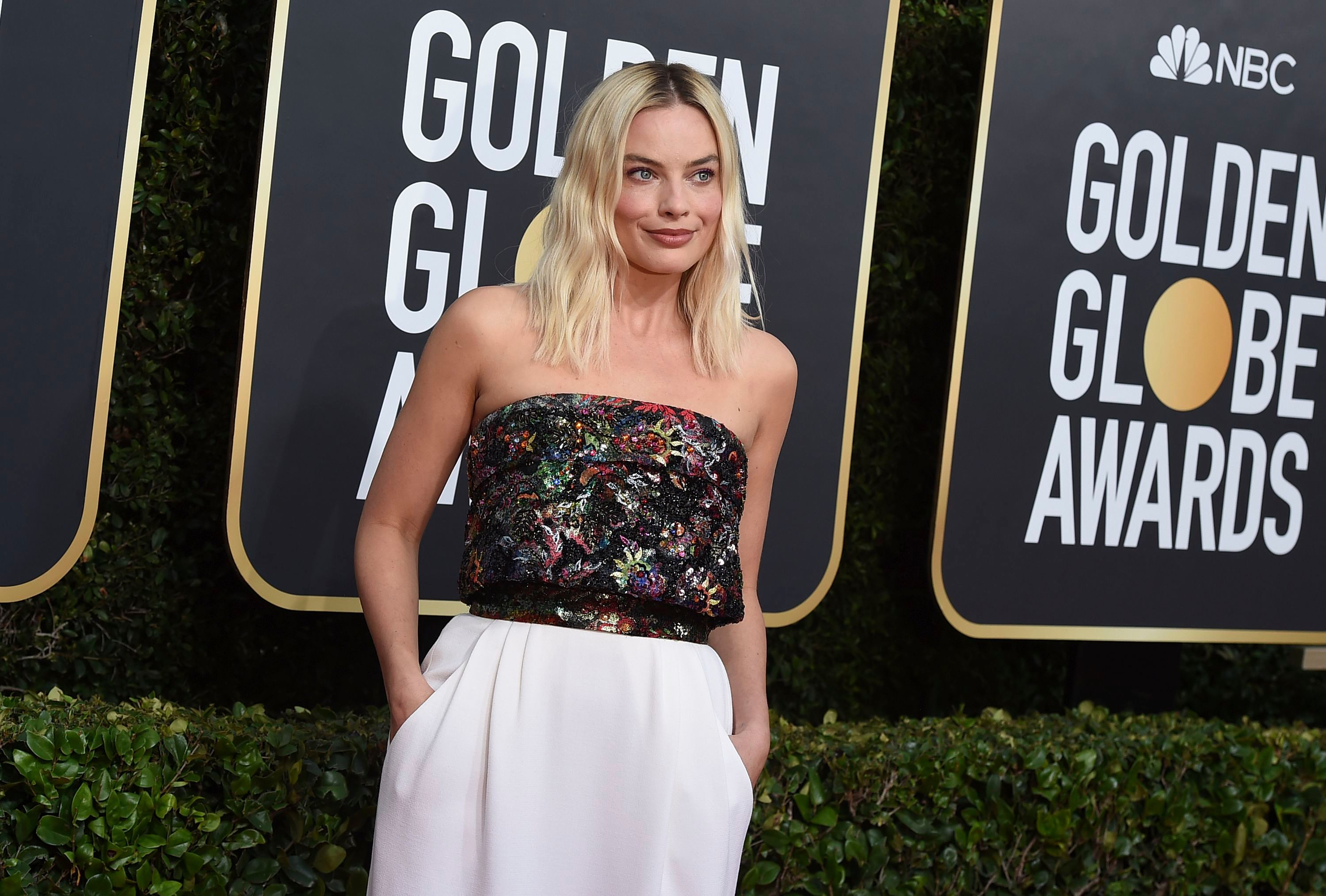 Margot Robbie arrives at the 77th annual Golden Globe Awards at the Beverly Hilton Hotel, in Beverly Hills, Calif77th Annual Golden Globe Awards - Arrivals, Beverly Hills, USA - 05 Jan 2020
