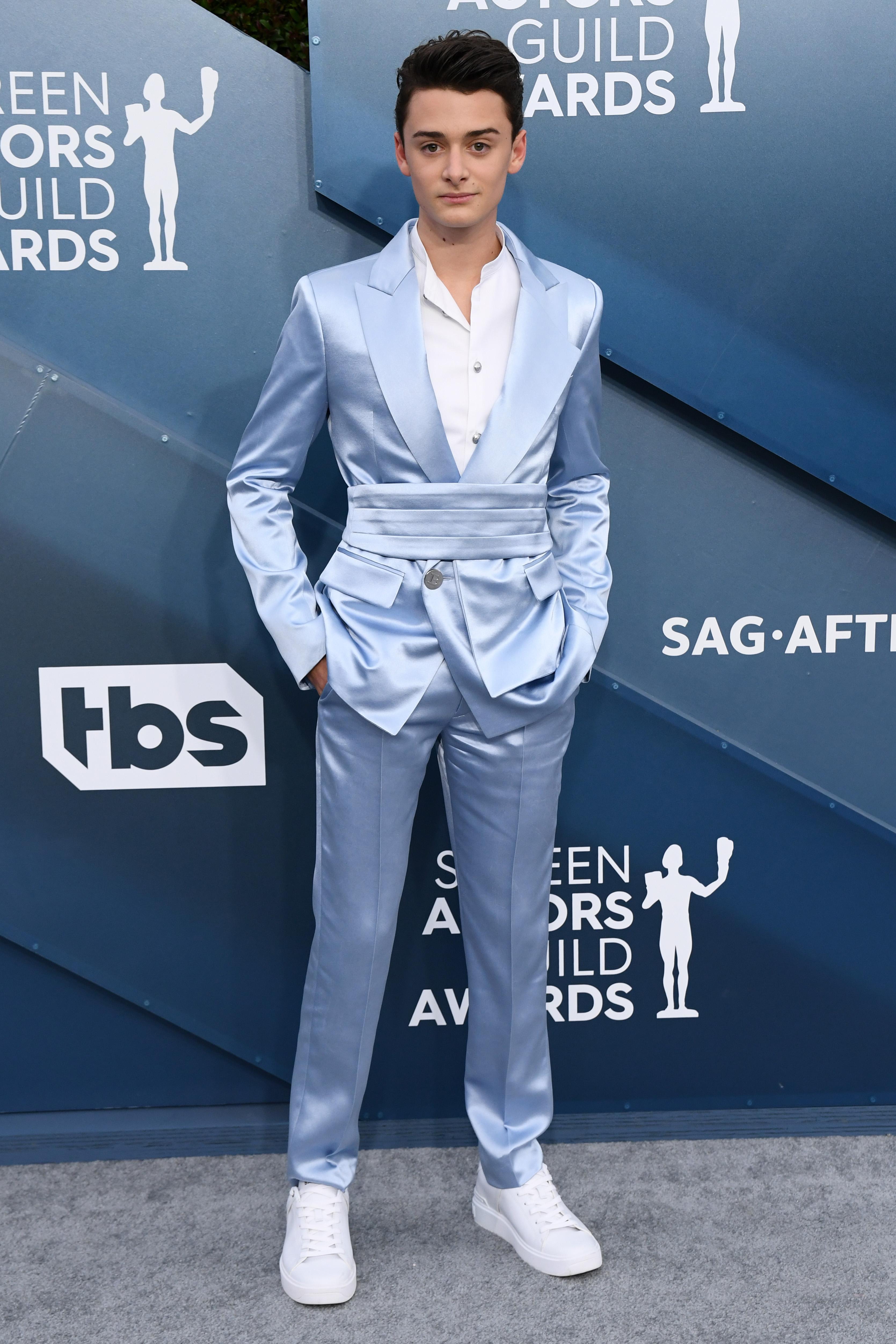 Noah Schnapp26th Annual Screen Actors Guild Awards, Arrivals, Shrine Auditorium, Los Angeles, USA - 19 Jan 2020