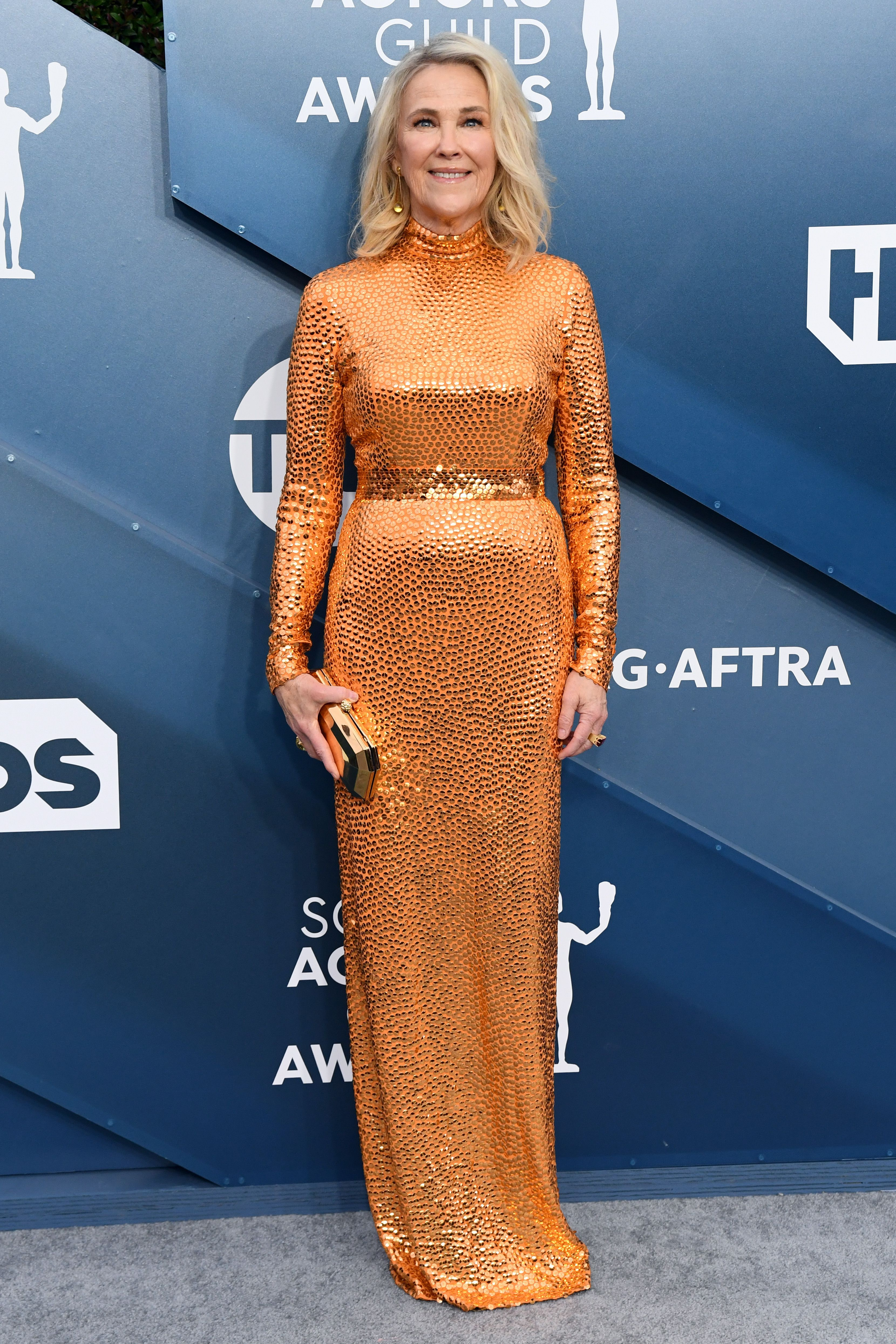 Catherine O'Hara26th Annual Screen Actors Guild Awards, Arrivals, Fashion Highlights, Shrine Auditorium, Los Angeles, USA - 19 Jan 2020