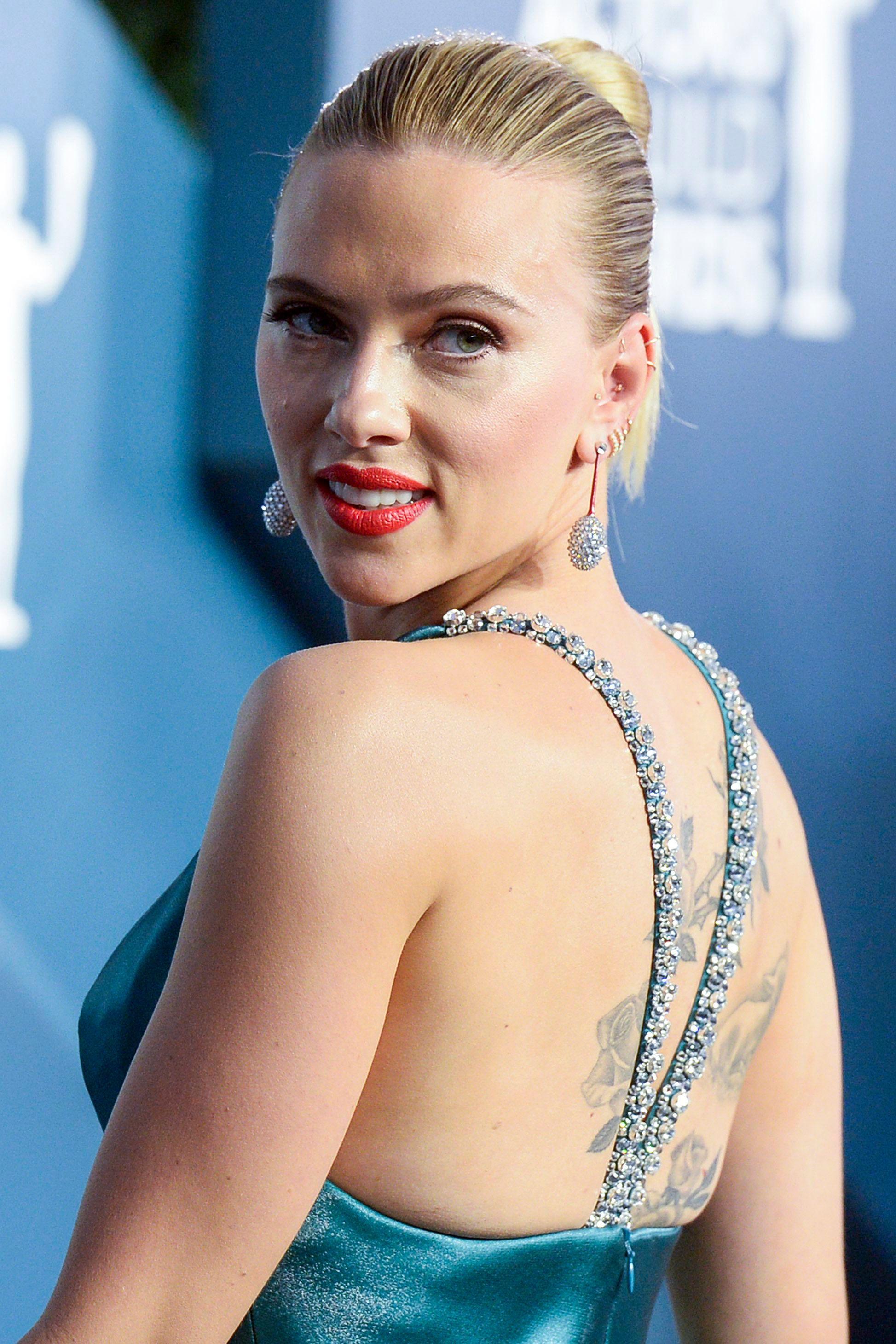 Scarlett Johansson26th Annual Screen Actors Guild Awards, Arrivals, Shrine Auditorium, Los Angeles, USA - 19 Jan 2020