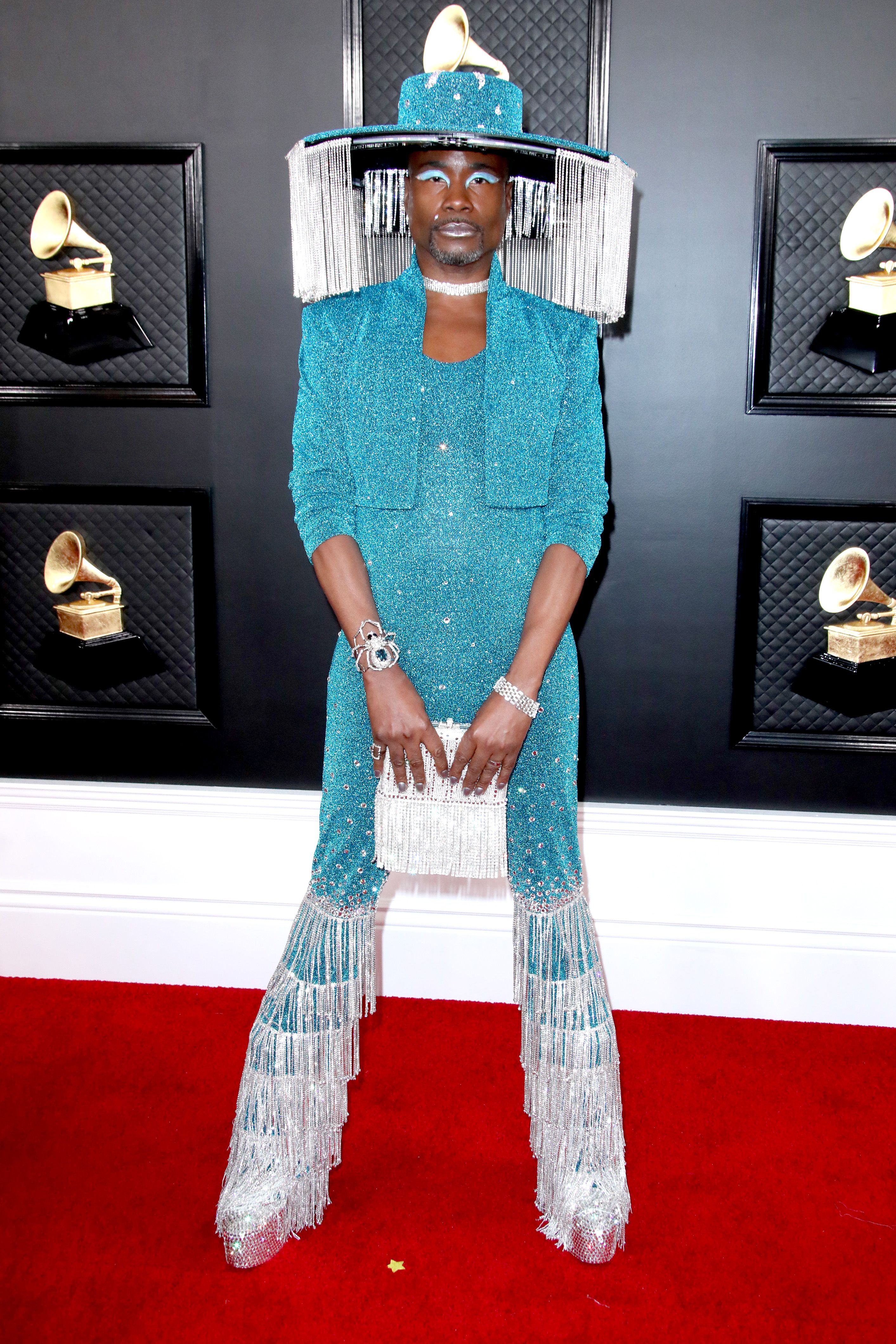 Billy Porter 62nd Annual Grammy Awards, Arrivals, Los Angeles, USA - 26 Jan 2020