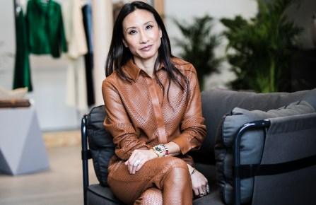Net-a-porter global buying director Elizabeth von Der Goltz