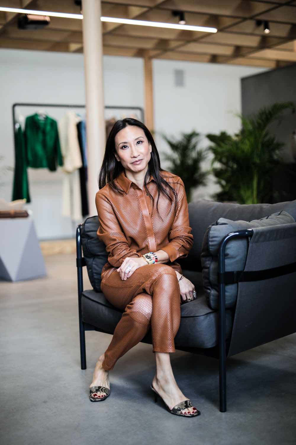 Net-a-porter global buying director Elizabeth von Der Goltz