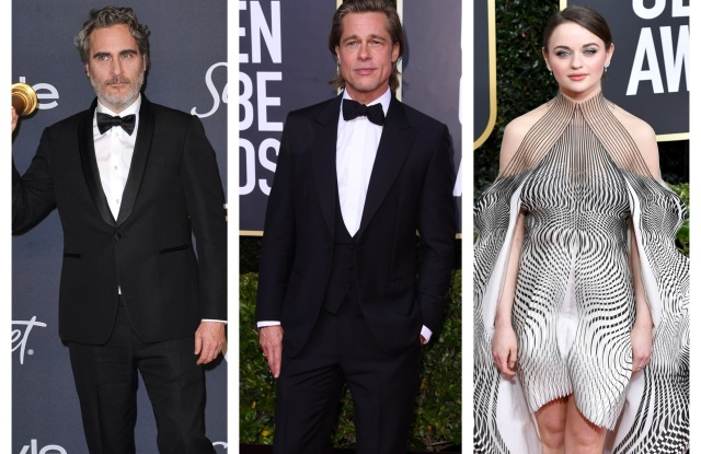Joaquin Phoenix, Brad Pitt, Joey King Are the Top Trending Celebs on Instagram at Golden Globes