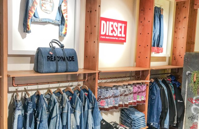 Part of Diesel's new area inside Fred Segal's L.A. flagship.