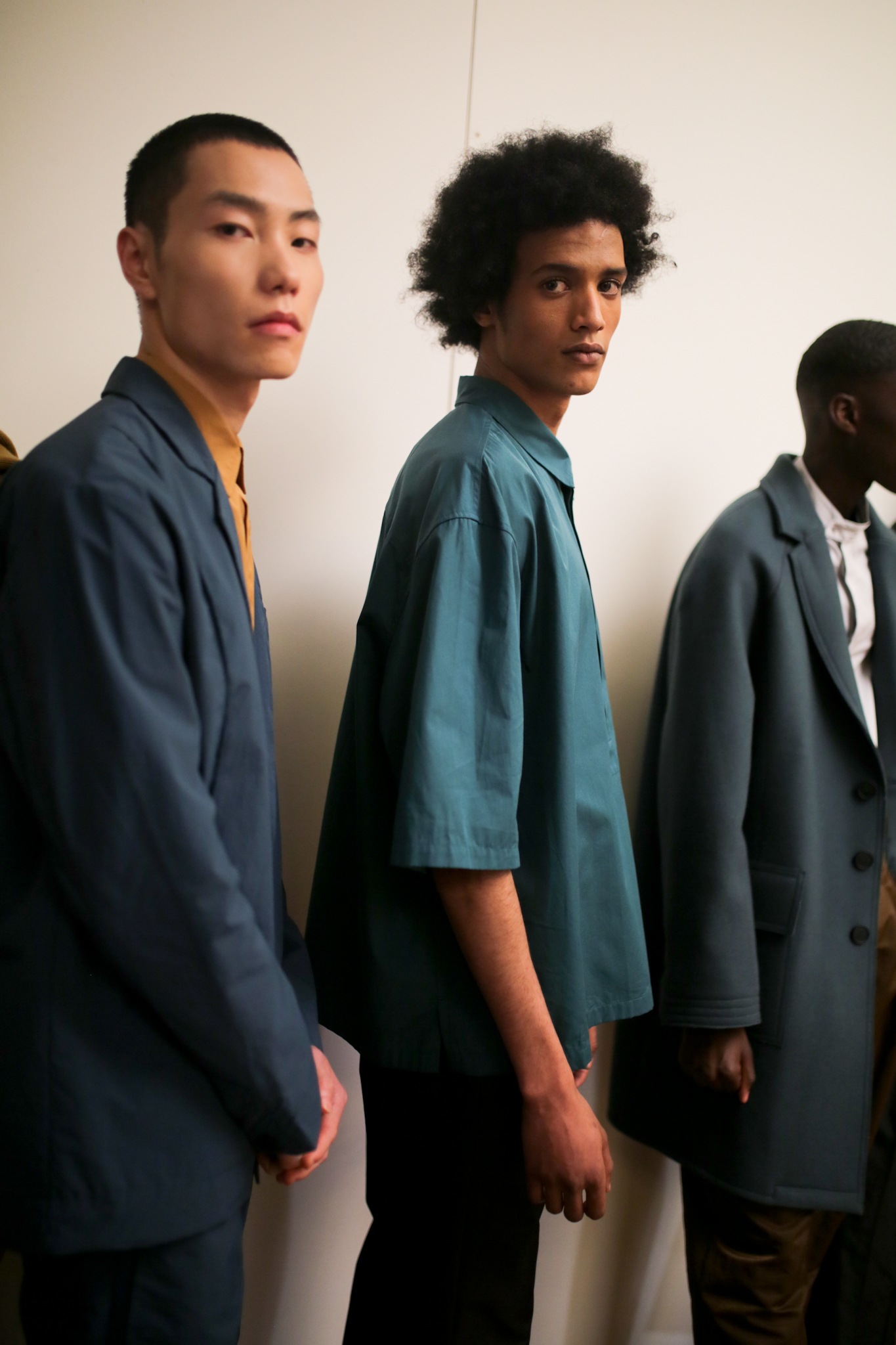 Backstage at A Cold Wall Men's Fall 2020