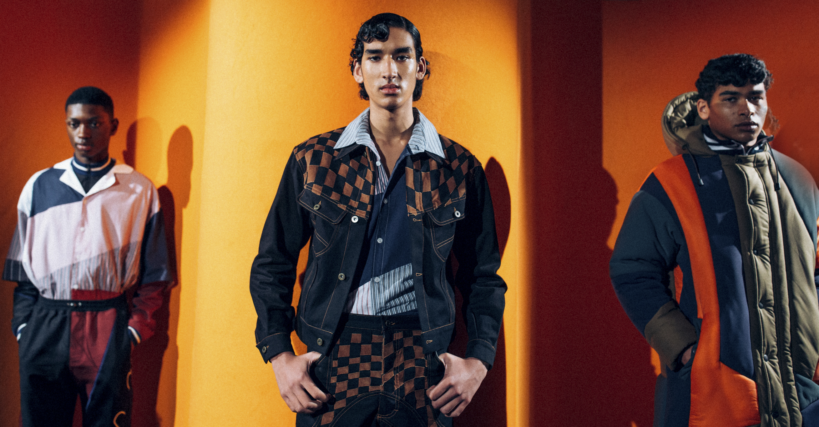 Ahluwalia Studio LFW Men's Fall 2020, photographed in London on 05 January 2020