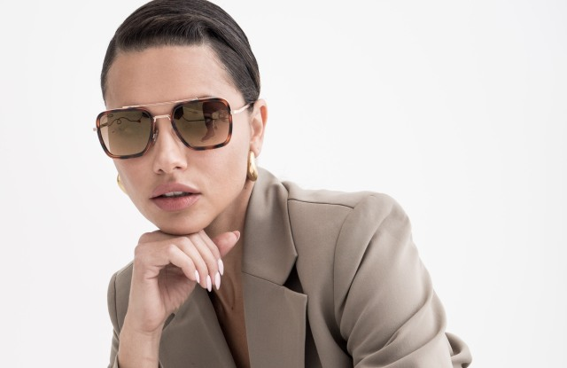 Adriana Lima visits to discuss her sunglasss line.