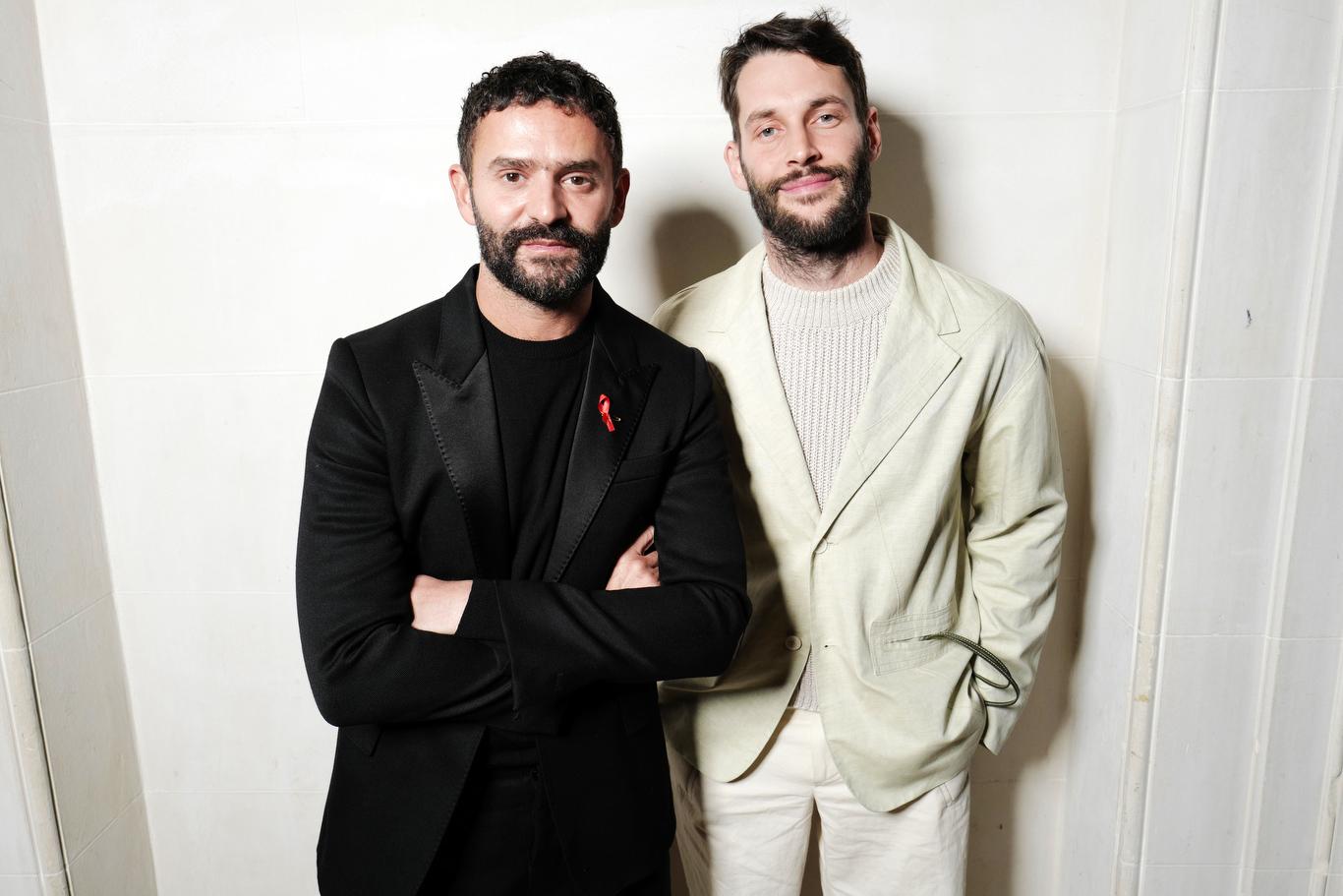 Alexandre Mattiussi and Simon Porte Jacquemus