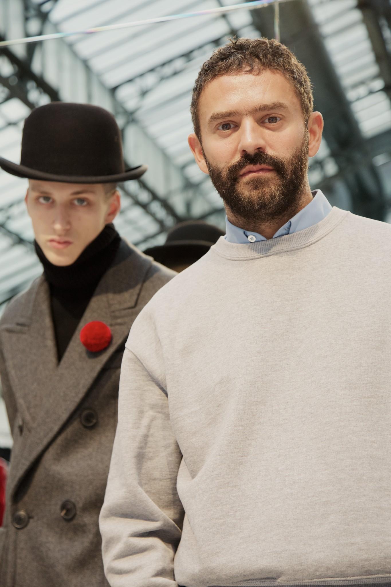AMI designer Alexandre Mattiussi.