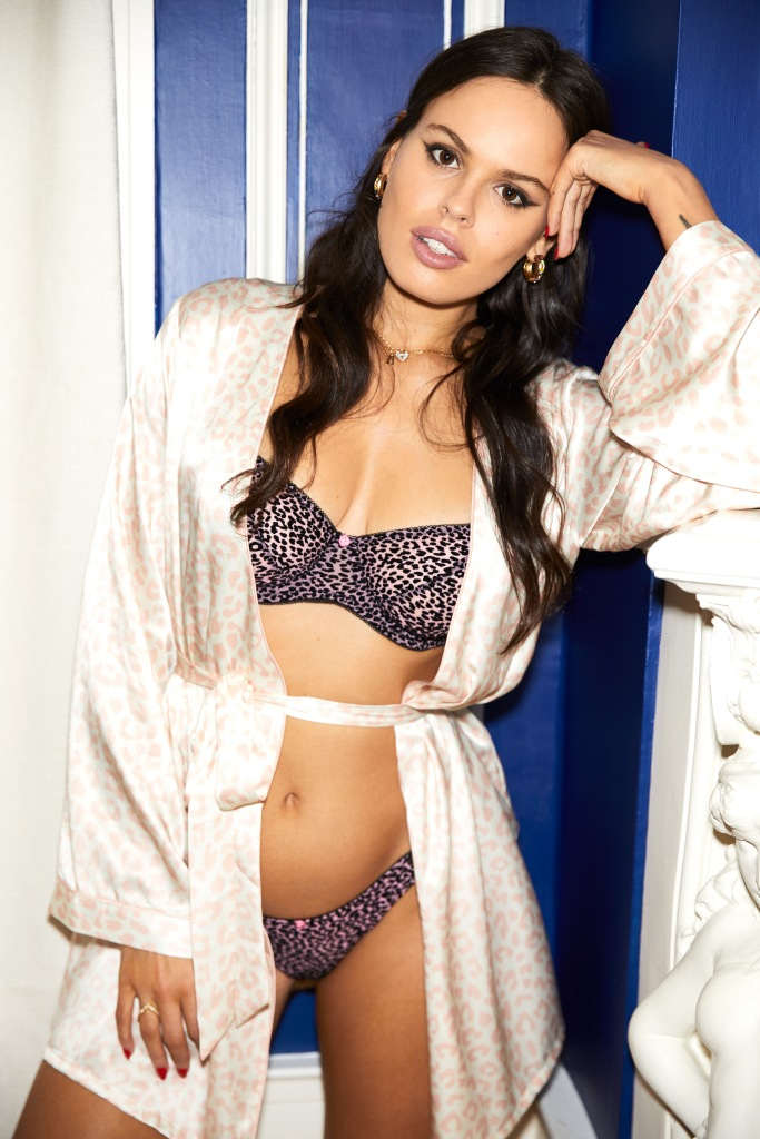 Atlanta de Cadenet x Morgan Lane lingerie collaboration