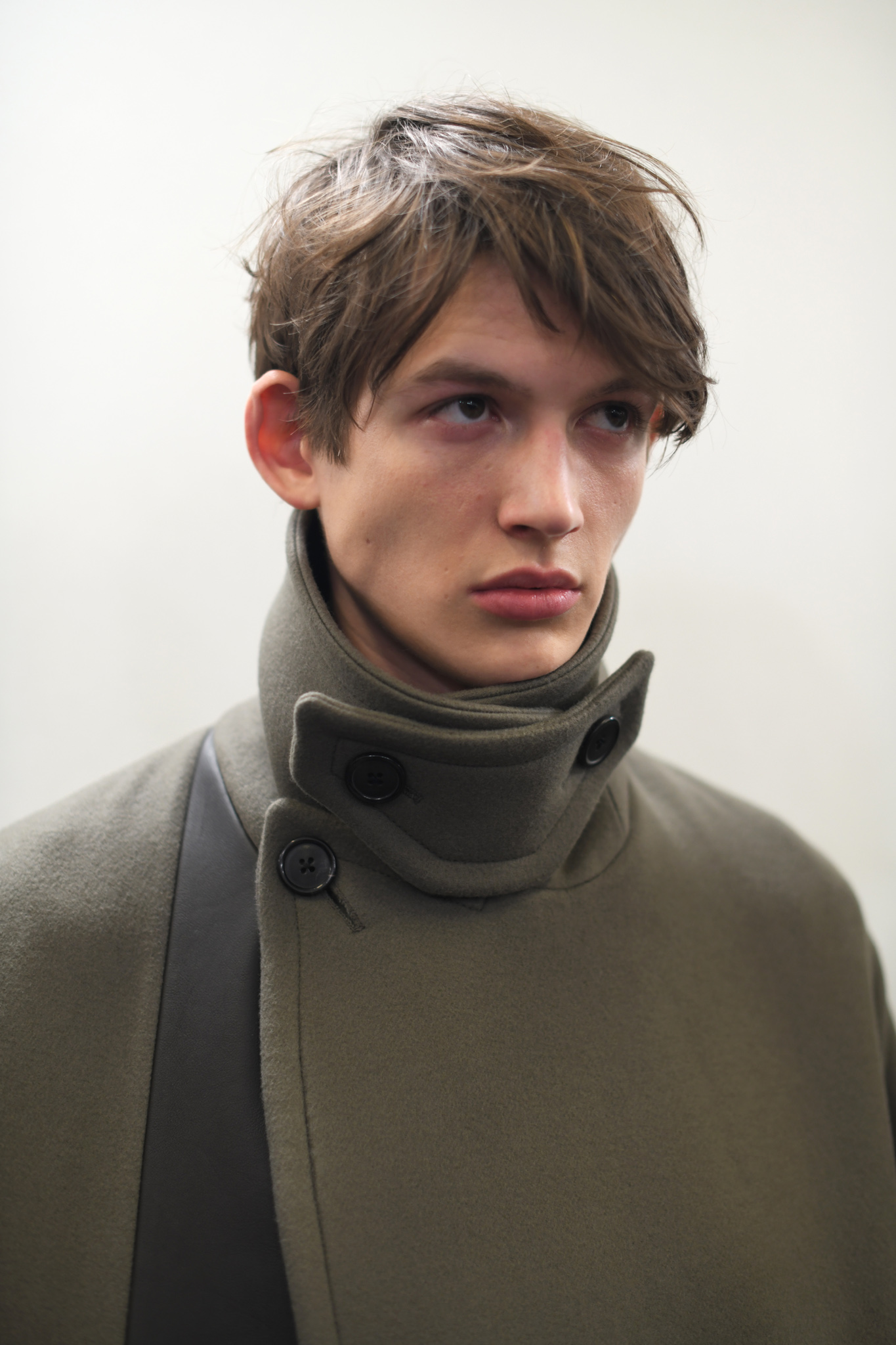 Backstage at Hermès Men's Fall 2020