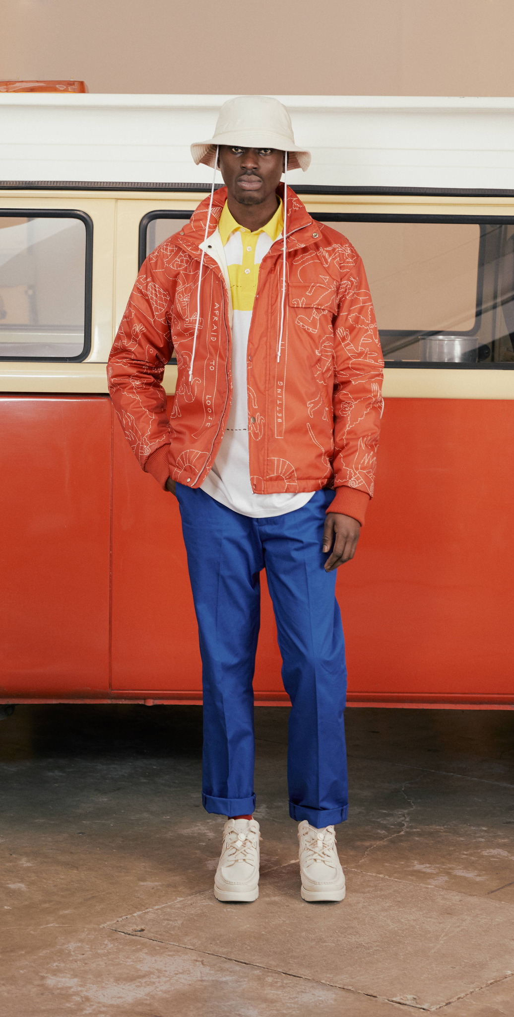 Band of Outsiders LFW Men's Fall 2020, photographed in London on 04 January 2020