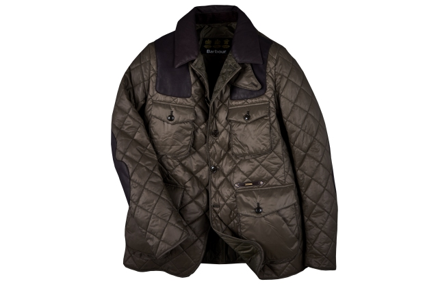 The Barbour 'Supa Sporting Quilt' jacket