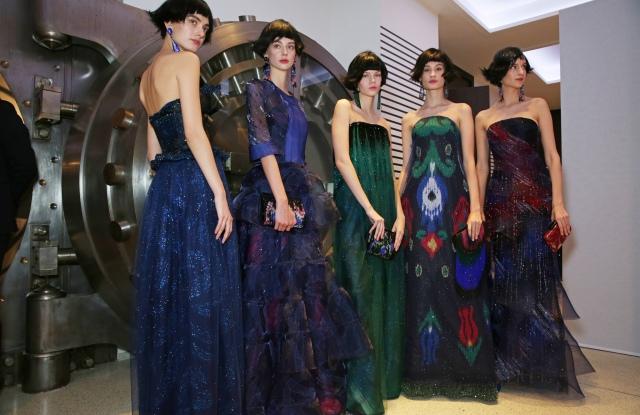 Backstage at Giorgio Armani Privé Haute Couture Spring Summer 2020