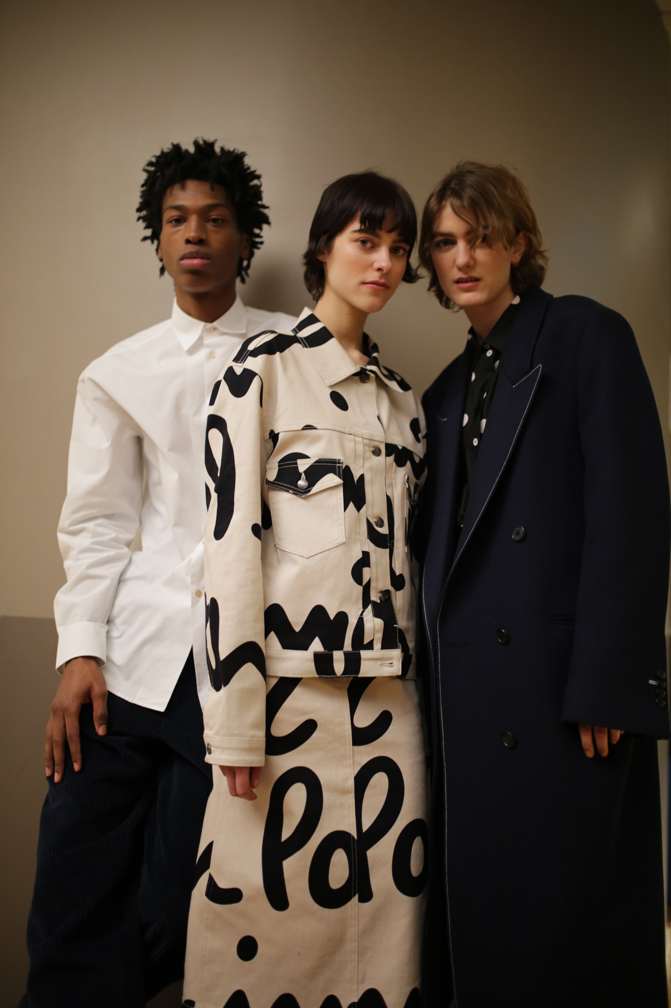 Backstage at Paul Smith Men's Fall 2020