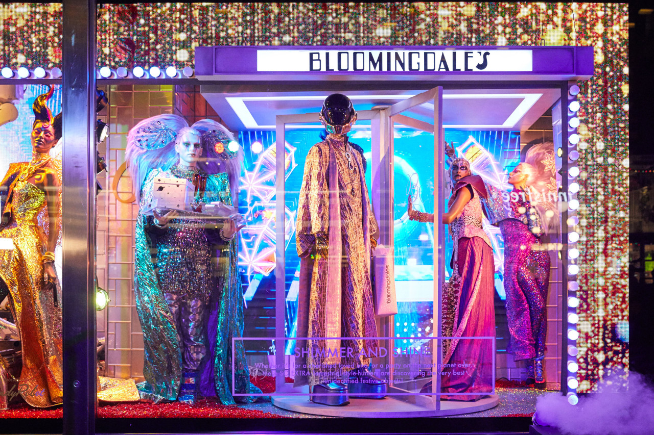 The Bloomingdale's 2019 holiday window unveiling.