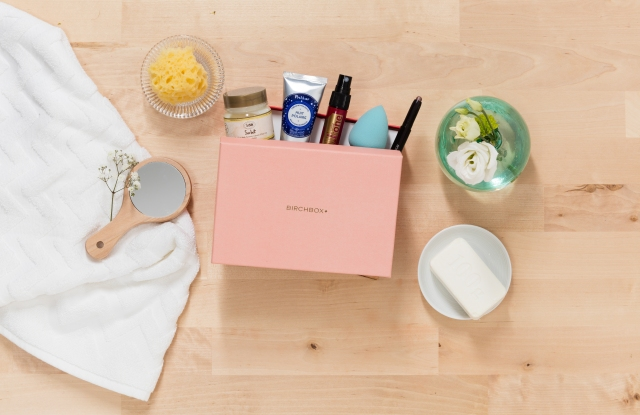A Birchbox assortment.