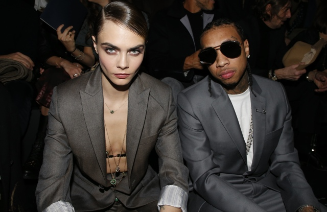 Cara Delevingne and Tyga