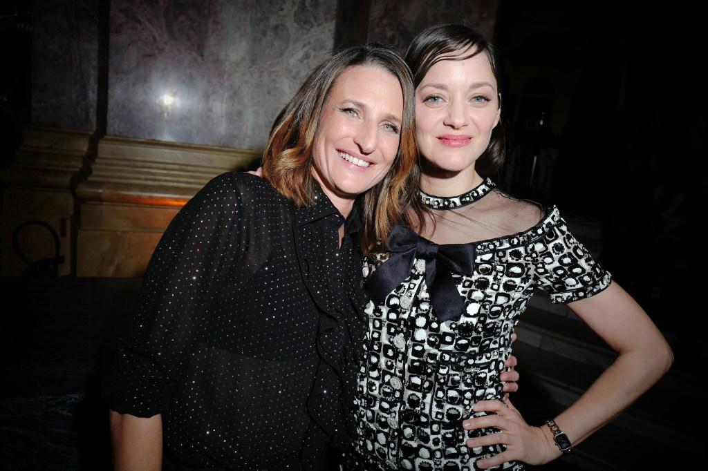 Camille Cottin and Marion Cotillard