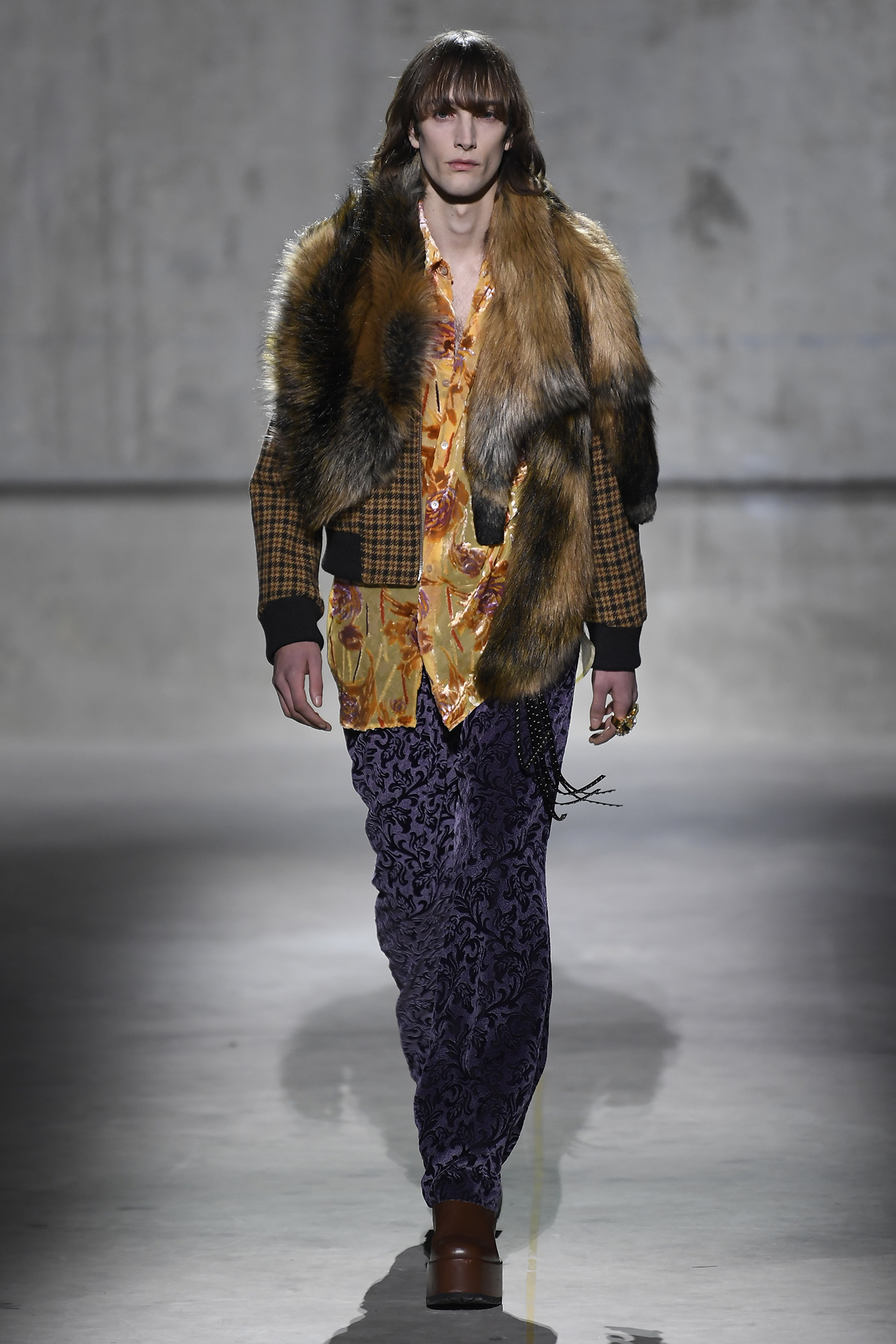 Dries Van Noten Men's Fall 2020