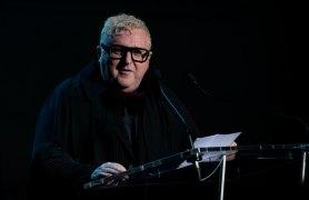 Alber Elbaz at the Parsons Paris gala
