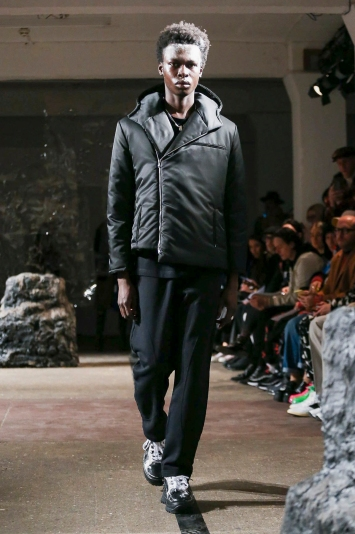 Eastwood Danso LFW Men's Fall 2020, photographed in London on 04 January 2020