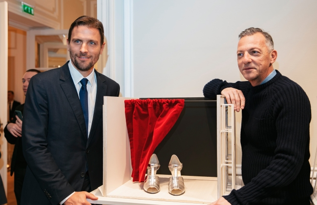 James Ferragamo and Olivier Saillard