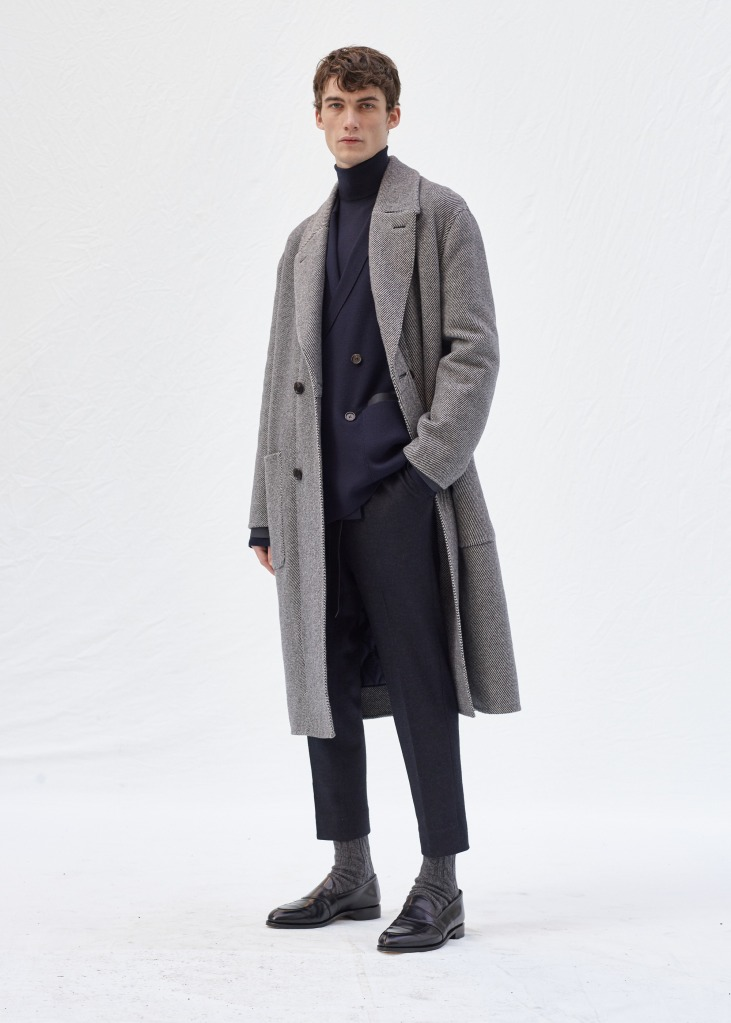 A look from Agnona men's fall 2020 collection