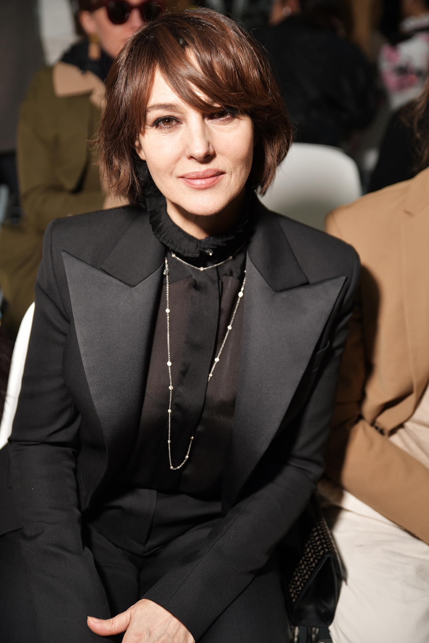 Monica Bellucci in the front row