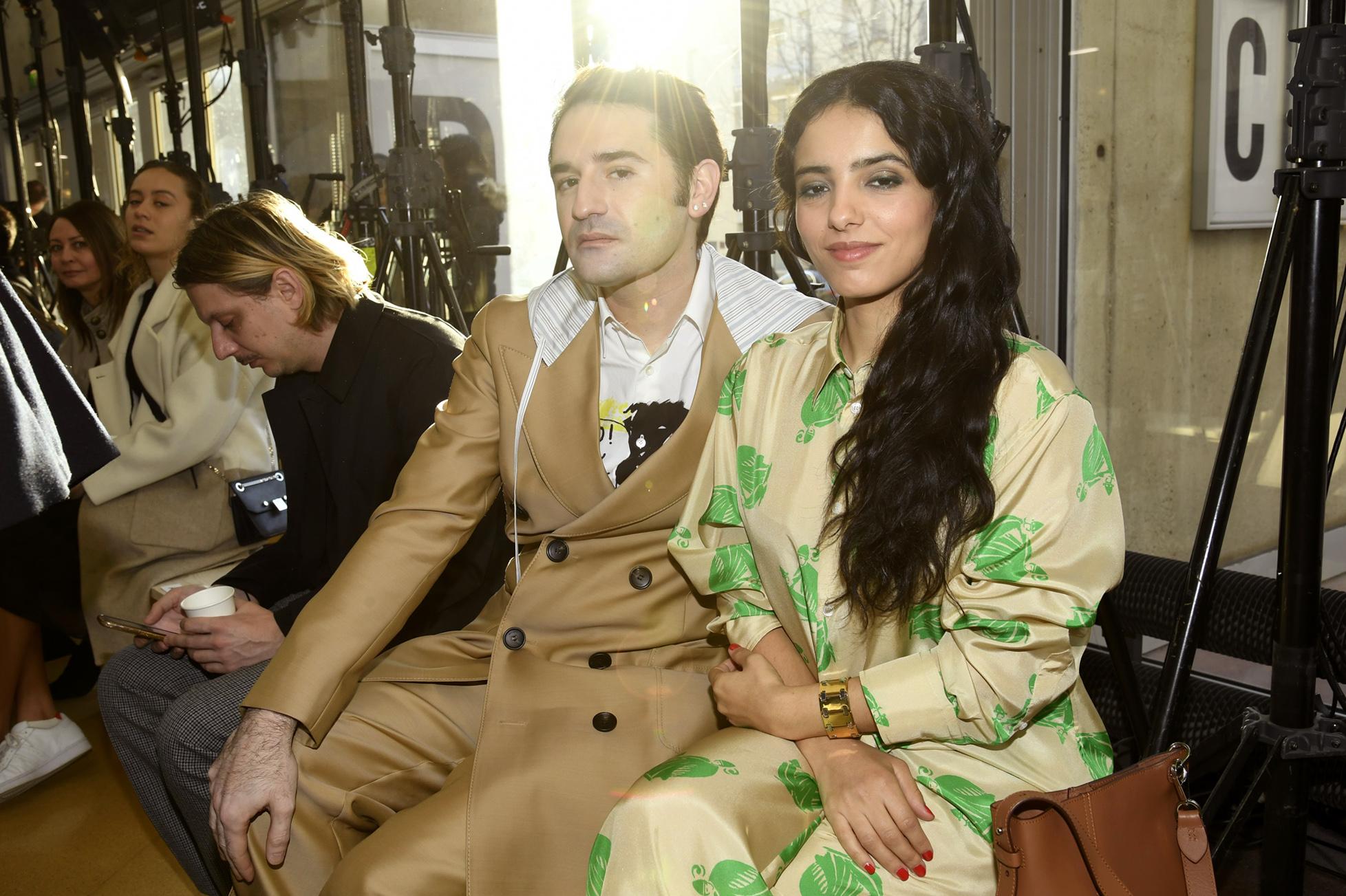 Nicolas Maury and Hafsia Herzi in the front row