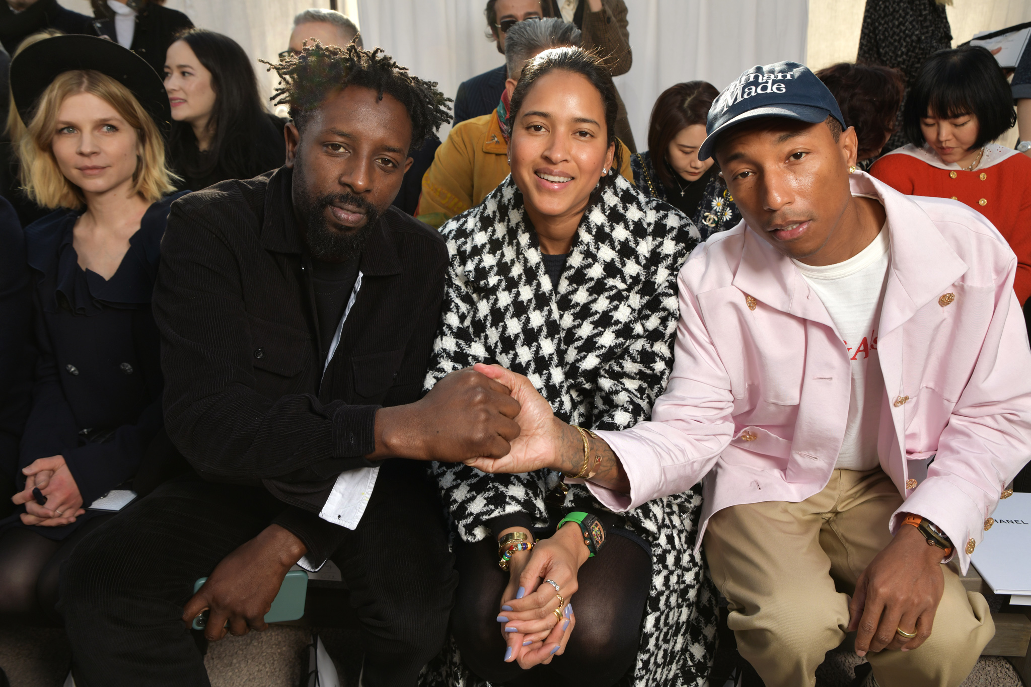 Ladj Ly, Helen Lasichanh and Pharrell Williams