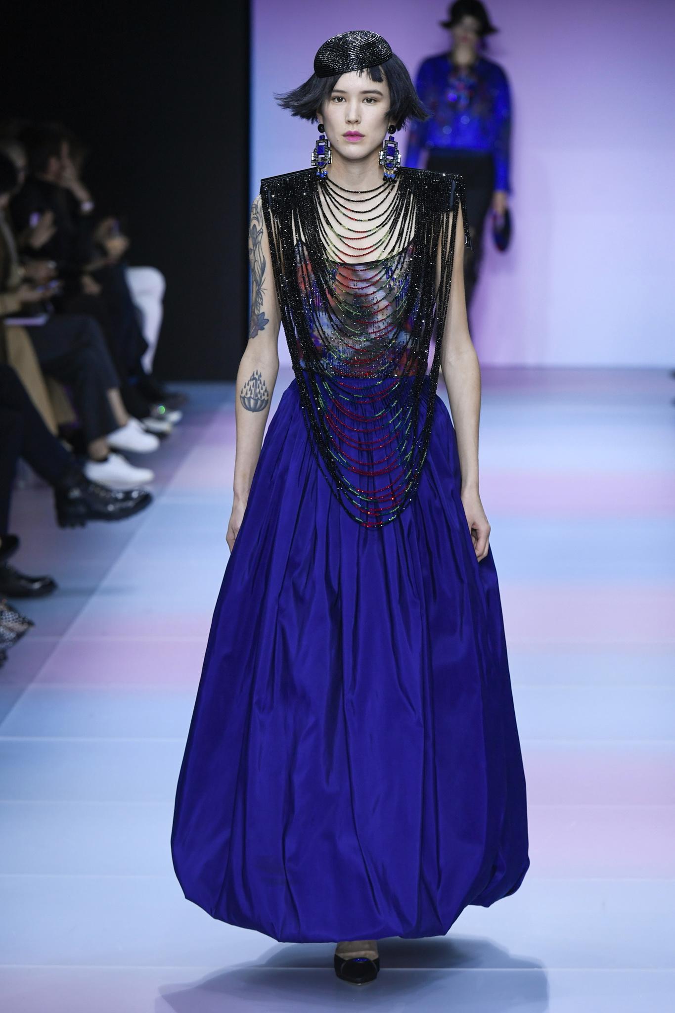 Giorgio Armani Prive Couture Spring 2020