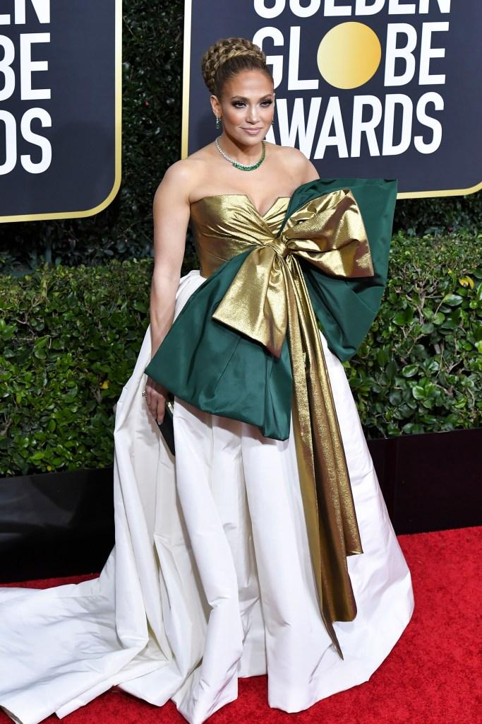 2020 Golden Globes: Jennifer Lopez Photos