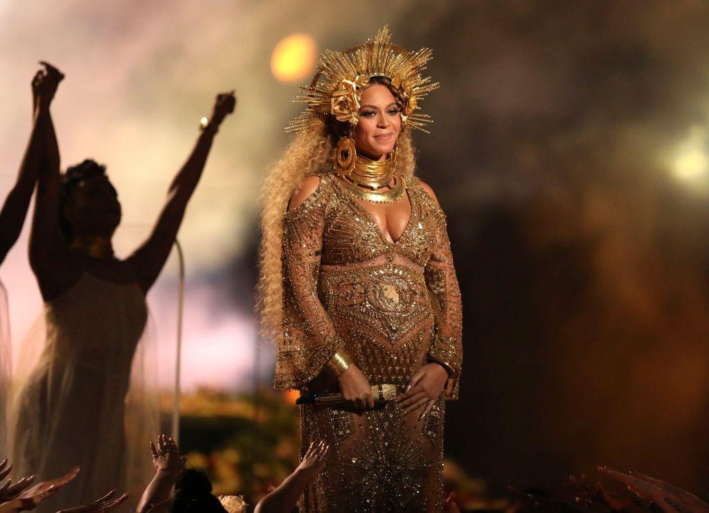 Grammys Red Carpet Fashion: Beyonce