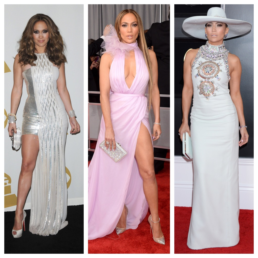 Grammys Red Carpet Fashion: Jennifer Lopez Has Top Searched Red Carpet Style